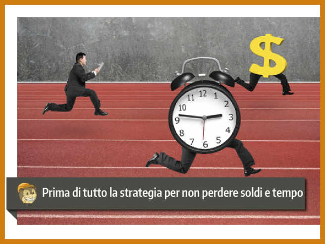 prima di tutto la strategia